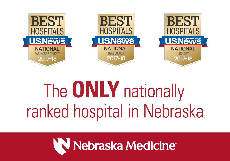 U S  News Again Ranks Nebraska Medicine #1 In Nebraska