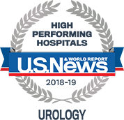 U.S. News and World Report High Performing Urology