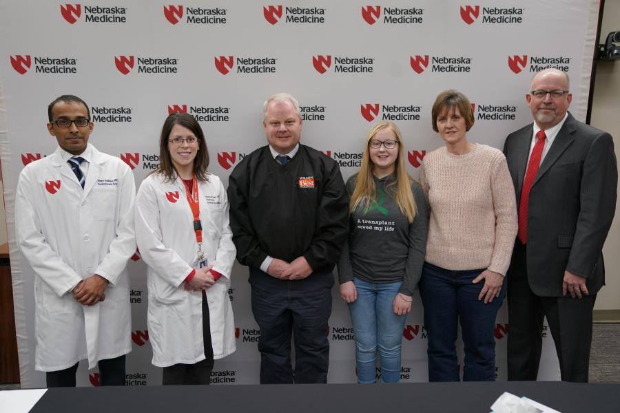 Nebraska Medicine Transplant Team Performs the First Heart-Lung