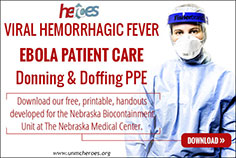 Ebola Patient Care Donning and Doffing PPE