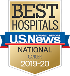 U.S. News & World Report National Cancer Award badge