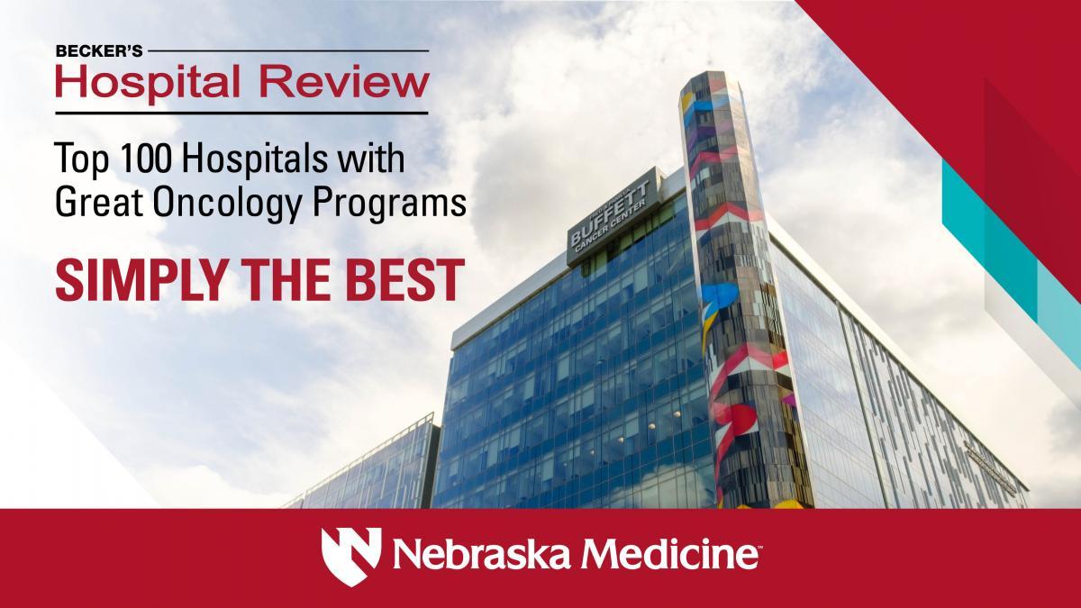 Nebraska Medicine Cancer Care Ranked Among the Best