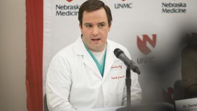 Dan Johnson, MD, Nebraska Medicine critical care anesthesiologist.