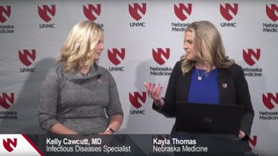 Video interview of Kelly Cawcutt, MD, Infectious Diseases Specialist