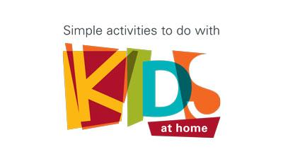 Simple activities to do with kids at home