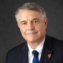 James Linder, MD, Nebraska Medicine chief operating officer and professor of pathology for the University of Nebraska Medical Center (UNMC).