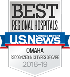 Featured in U.S. News Best Hospitals of 2017-2018